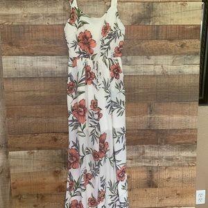 Fantastic Fawn floral romper/pants, size medium